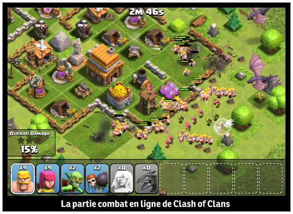 campagne clash of clans