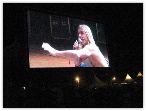 Iggy Pop � la f�te de l'humanit� 2007, La Courneuve, France