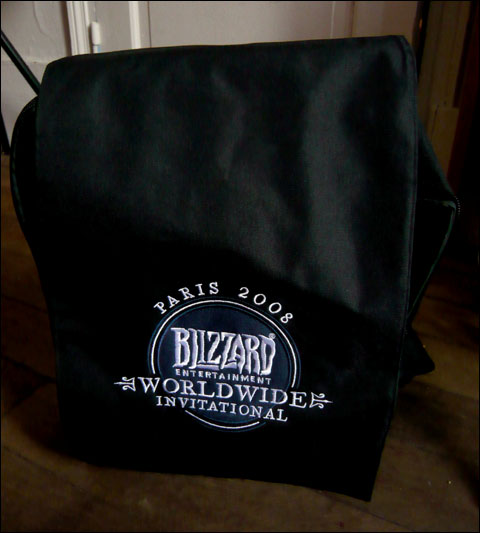 sac � dos Blizzard WorldWide Invitational 2008 (goody bag)