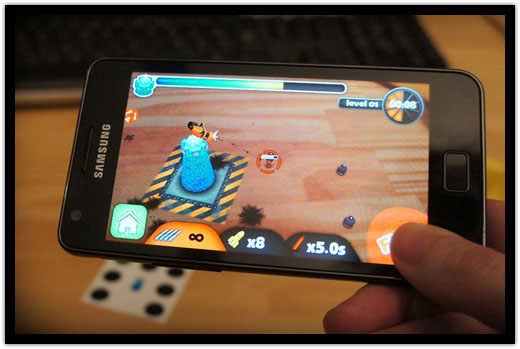 ARDefender on Samsung Galaxy S2